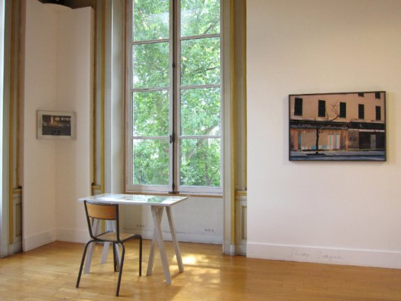 Claire Tenu. Exhibition view. Saint-Ouen, 2011