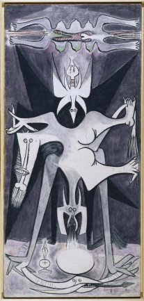 Wifredo Lam. Natividad, 1947. Painting. Museo Nacional Centro de Arte Reina Sofía Collection, Madrid
