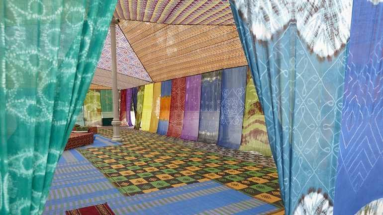 Exhibition view. Federico Guzmán. Tuiza. The Cultures of the Bedouin Tent, 2015