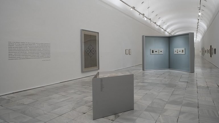 Exhibition view. Anni y Josef Albers. Latin American Journeys, 2006