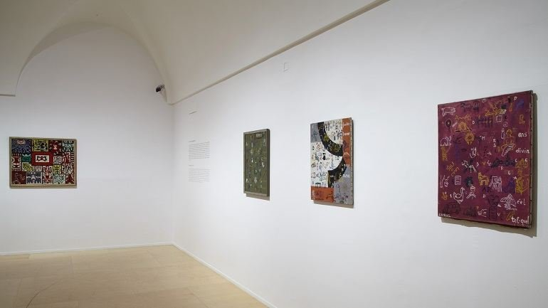Exhibition view. Especters of Artaud. Language and the Arts in the 1950s, 2012