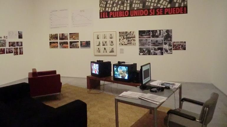 Exhibition view. Not Yet. On the Reinvention of Documentary and the Critique of Modernism, 2015