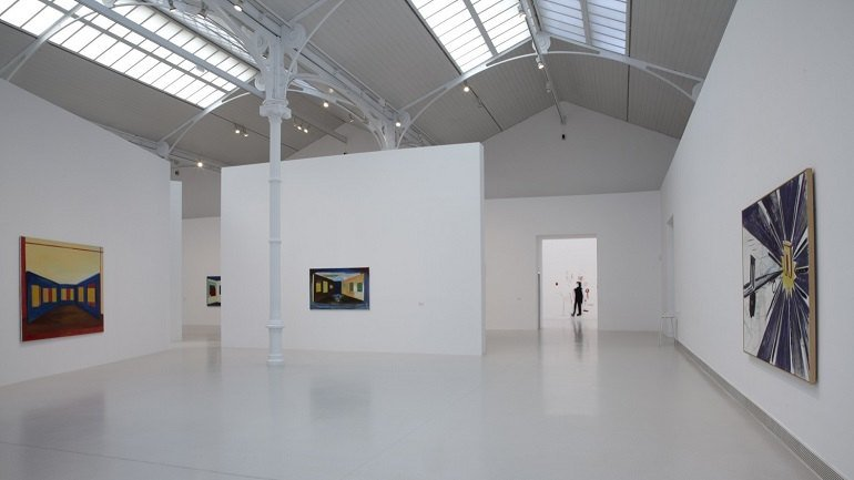 Exhibition view. René Daniëls. An Exhibition Is Always Part of a Greater Whole, 2011