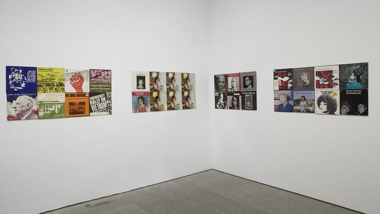 Exhibition view. Sharon Hayes. Habla, 2012