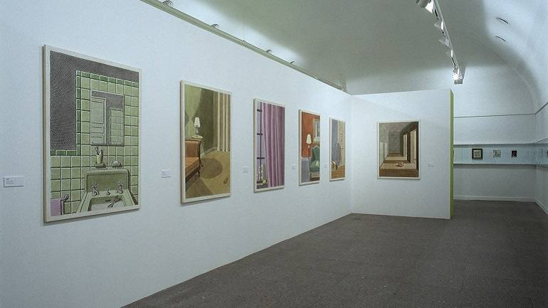 Exhibition view. Pierre Le-Tan, 2004