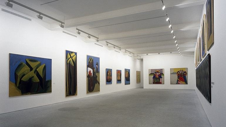 Exhibition view. Markus Lüpertz. Retrospective. 1963 – 1990, 1991