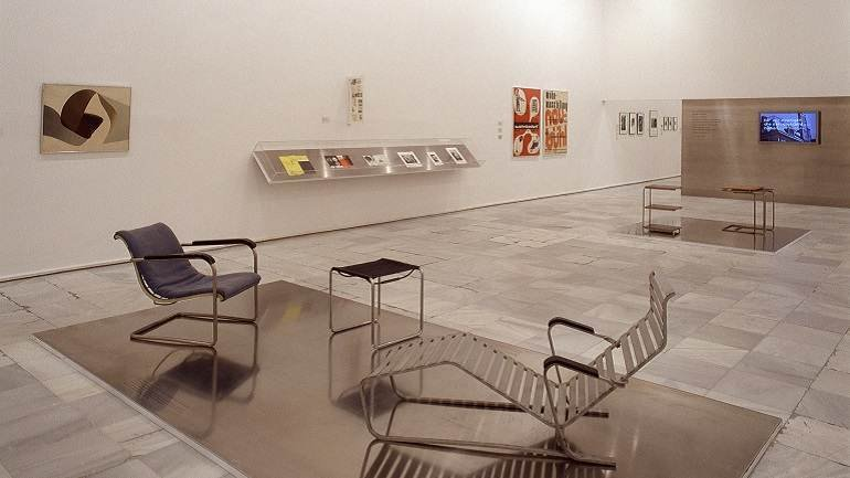 Exhibition view. Constructivist Switzerland, 2003