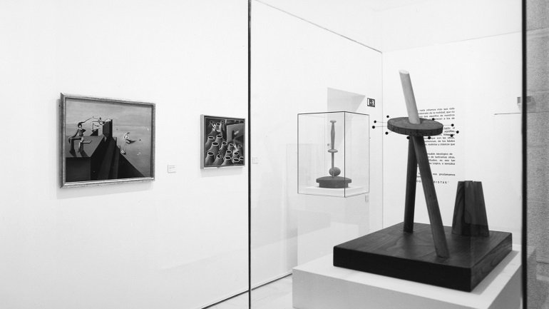 Exhibition view. Surrealism in Spain 1924-1939, 1994