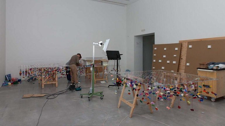 Installing the work