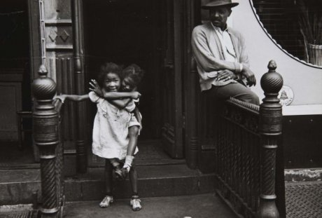New York, 1940 (Man Watching Girl On Back)