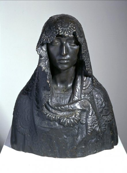 Mujer de la mantilla (Woman with Mantilla)