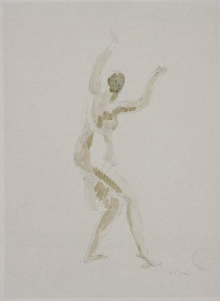 Isadora Duncan (Female Nude)