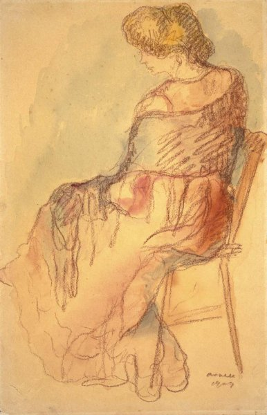 Mujer con echarpe (Woman with Shawl)