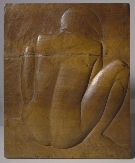 Mujer sentada de espaldas (Rear View of Seated Woman)