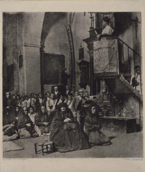 Sermón en la aldea