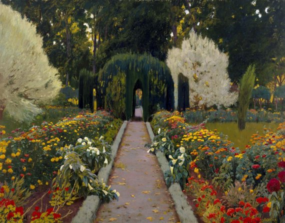 Jardí d'Aranjuez. Glorieta II (Jardín de Aranjuez. Glorieta II)