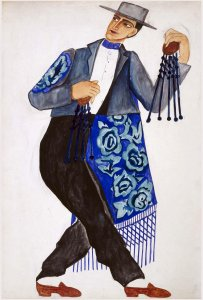Costume espagnole (Spanish Costume)