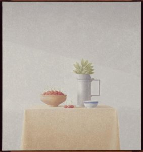 Bodegón con cerezas (Still Life with Cherries)
