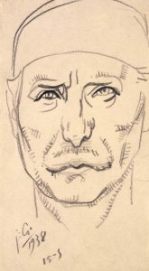 Croquis d'autoportrait (Sketch for Self-Portrait)