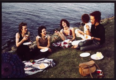 Picnic on the Esplanade, Boston (Picnic en el muelle, Boston)