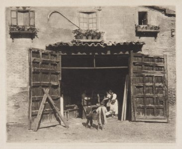 A Carpenter´s Shop–Toledo (Carpintería-Toledo)