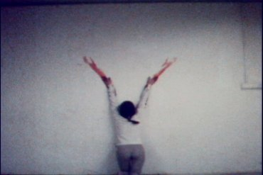 Untitled (Blood Sign #2/Body Tracks)