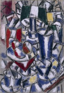 Nature morte à la lampe (Still Life with Lamp)