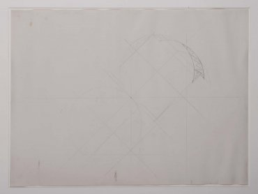 Untitled (Study for a Cut Drawing I) (Sin título [estudio para un dibujo cortado I])