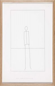 Untitled (8 Stick Figure Drawings)
