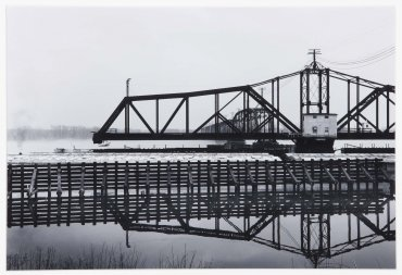 Soo Line Railroad, Swing Bridge III, Mississippi River, Sabula, Jackson County, Iowa