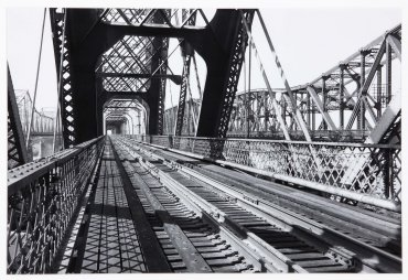 St. Louis-San Francisco Railway, Memphis Bridge. Chicago, Rock Island & Pacific Railroad I. Harahan Bridge, Mississippi River, Memphis, Tennessee (Ferrocarril St. Louis-San Francisco, puente Memphis. Ferrocarril Chicago, Rock Island y Pacific I. Puente Ha
