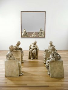 Five Seated Figures