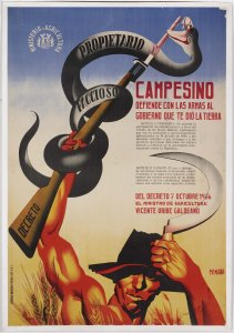 Cartel. Decreto 7 octubre 1936 (Poster. Decree, 7 October 1936)