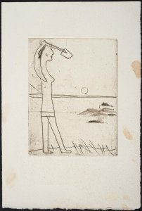 S/T (Petite fille à la pelle sur la plage) (No Title [Girl with Spade on the Beach])