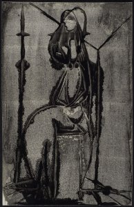 S/T (Femme au chandelier 1) (No Title [Woman with Candelabra 1])
