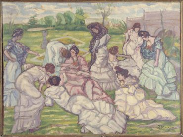 Sevillanas en el campo (Women from Seville in the Countryside)