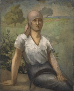 Paysanne assise (Seated Peasant Woman)
