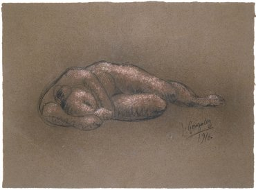 Nu allongé dormant (Reclining Nude Sleeping)