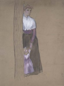 Femme à la fillette en mauve (Woman with Girl in Mauve)