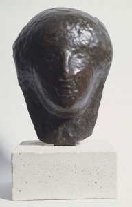 "Visage de femme dite «l'egyptienne» (Woman's Face Called ""The Egyptian"")"
