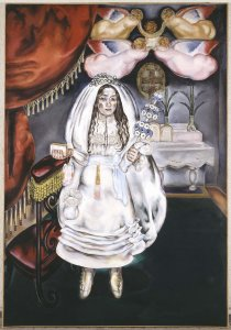 La comulgante (Girl at Her First Communion)