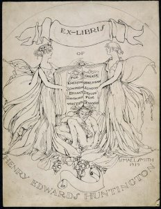 Exlibris de Henry Edwards Huntington