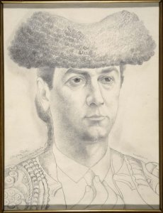 "El torero Mazzantini (The Bullfighter Mazzantini [Study of the picture ""The Bullfighing Teams""])"