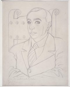 Retrato de Vicente Huidobro (Portrait of Vicente Huidobro)