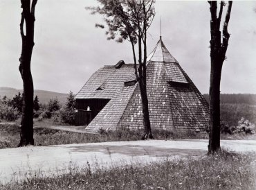 House with Tepee Structure