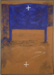 Blau i dues creus (Blue and Two Crosses)