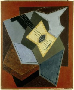 Guitare et compotier (Guitar and Fruit Bowl)